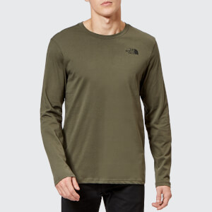 The North Face Men's Long Sleeve Easy T-Shirt - New Taupe Green