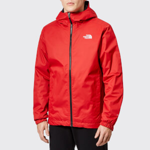 The North Face Men's Quest Insulated Jacket - Rage Red Black Heather