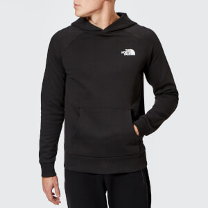 The North Face Men's Raglan Red Box Hoodie - TNF Black