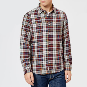 Jack Wills Men's Salcombe Check Shirt - Damson