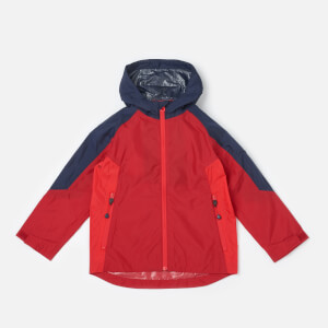 Joules Boys' Dalton Waterproof Shell Jacket - Red