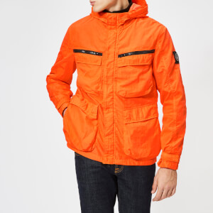 Marshall Artist Men's Garment Dyed Field Jacket - Orange