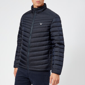 GANT Men's Airlight Down Jacket - Navy