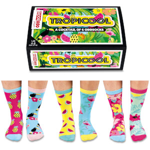 United Oddsocks Women's Tropicool Socks Gift Set