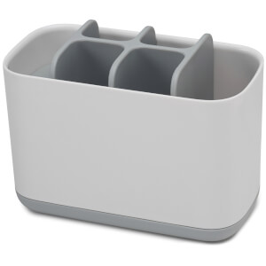 Joseph Joseph Easy-Store Toothbrush Caddy Large - White/Grey