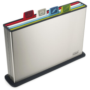Joseph Joseph Index Chopping Board - Steel/Multi Colour