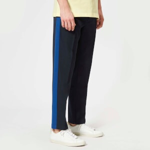 Axel Arigato Men's Slim Fit Side Stripe Trousers - Dark Navy/Blue