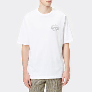 Axel Arigato Men's Globe Box Fit T-Shirt - White