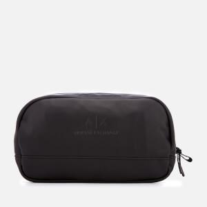 Armani Exchange Men's PU Wash Bag - Black