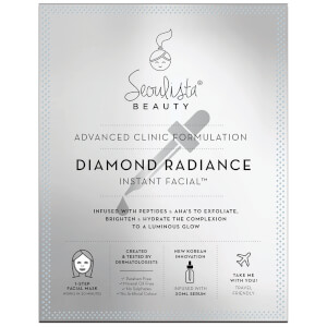 Mascarilla facial Diamond Radiance Instant Facial de Seoulista Beauty