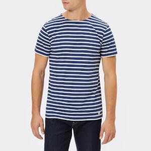 Armor Lux Men's Mariniere Heritage Short Sleeve T-Shirt - Polo/Milk