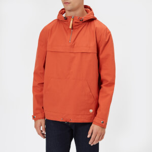 Armor Lux Men's Water Repellent Fisherman's Smock Jacket - Orange Henne