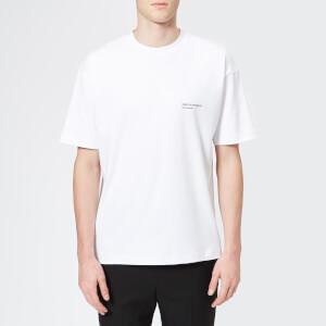 Drôle De Monsieur Men's Logo T-Shirt - White