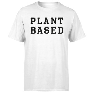 Plant Based Men's T-Shirt - White