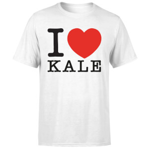 I Heart Kale Men's T-Shirt - White