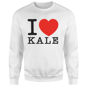 I Heart Kale Sweatshirt - White