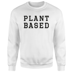 Plant Based Sweatshirt - White