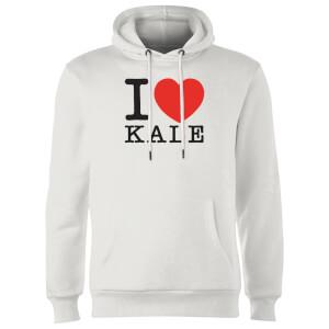 I Heart Kale Hoodie - White