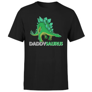 Daddysaurus Men's T-Shirt - Black