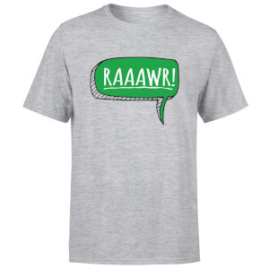 Raaawr Men's T-Shirt - Grey