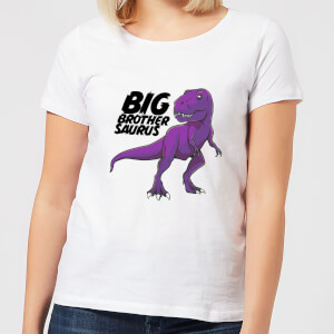 Im A Big Brothersaurus Women's T-Shirt - White