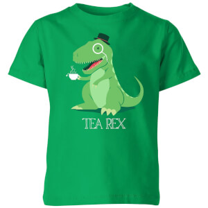 TeaRex Kids' T-Shirt - Kelly Green