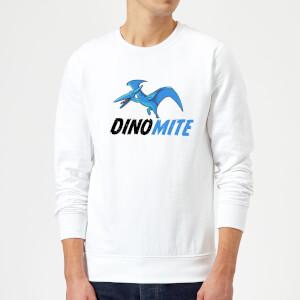 Dino Mite Sweatshirt - White