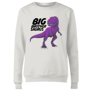 Im A Big Brothersaurus Women's Sweatshirt - White