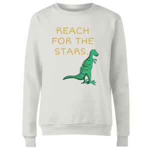 Reach For The Stars Women's Sweatshirt - White