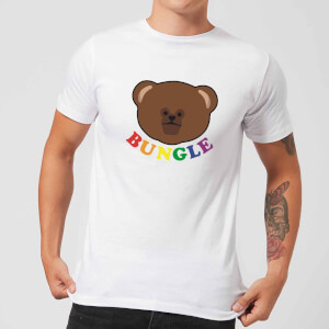 Rainbow Bungle Club Men's T-Shirt - White