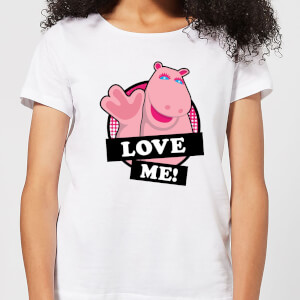 Rainbow Love Me George Women's T-Shirt - White