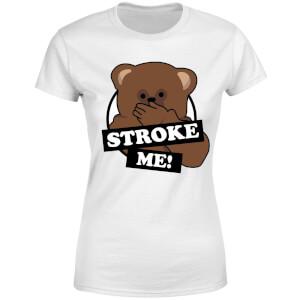 Rainbow Stroke Me Bungle Women's T-Shirt - White