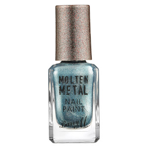 Barry M Cosmetics Molten Metal Nail Paint - Blue Glacier