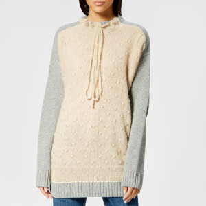 7ef4fa163b MM6 Maison Margiela Women s Gauge Oversized Cable Knitted Jumper ...