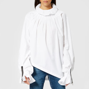 JW Anderson Women's Pleated Collar Blouse - White