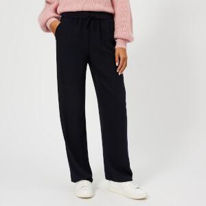 Whistles Women's Helena Tape Stripe Trousers - Navy