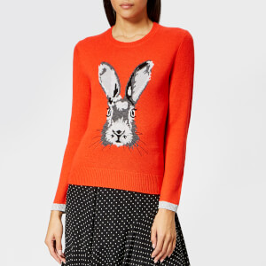 Whistles Women's Bunny Motif Intarsia Sweater - Multi