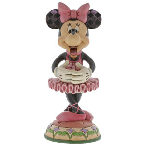 Disney Traditions Beautiful Ballerina Minnie Mouse Figurine
