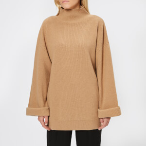 A.P.C. Women's Oversized Knitted Jumper - Camel