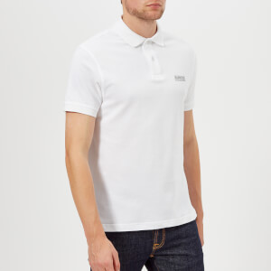 Barbour International Men's Essential Polo Shirt - White