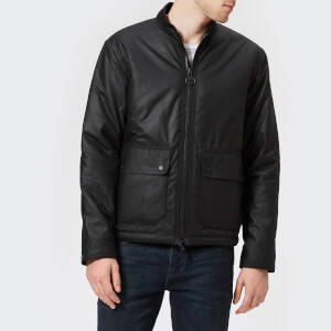 Barbour International Men's Sport Injection Wax Jacket - Black