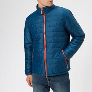 Barbour International Men's Sport Locking Quilt Jacket - Petrol