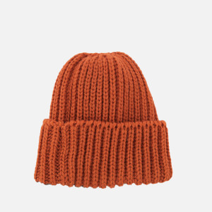Universal Works Men's Short Watch Cap - Orange