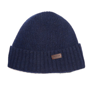 Barbour Men's Carlton Beanie Hat - Navy