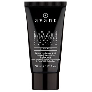 Avant Skincare Deluxe Hyaluronic Acid Vivifying Face & Eye Night Cream
