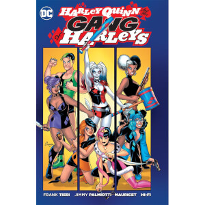 DC Comics Harley Quinn's Gang of Harleys boek