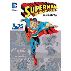 DC Comics Superman The Man of Steel Believe boek