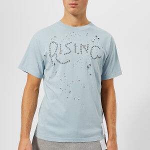 Satisfy Men's Rising Moth Eaten T-Shirt - Dusty Blue