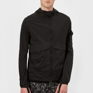 Satisfy Men's Packable Windbreaker - Black Silk