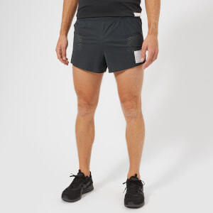 "Satisfy Men's Short Distance 2.5"" Shorts - Army Grey"